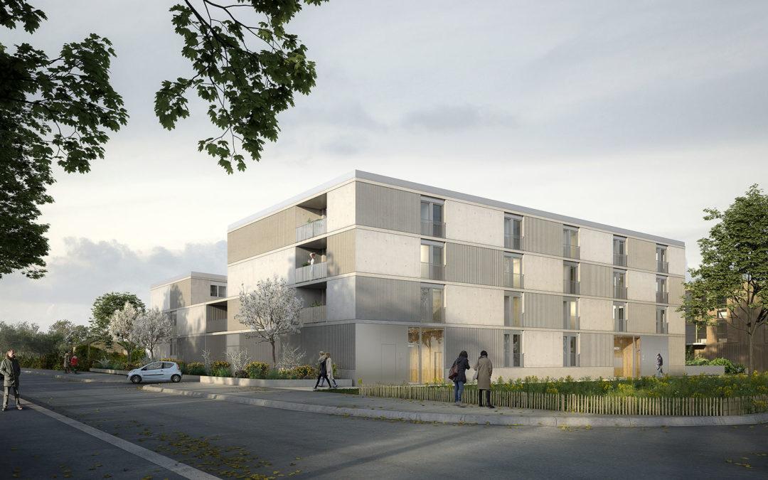 ZAC Erdre Porterie – Ilot BN6 – 31 logements